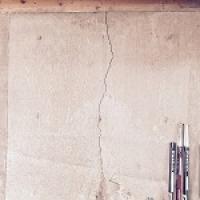 Hairline crack